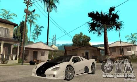 SSC Ultimate Aero FM3 version pour GTA San Andreas