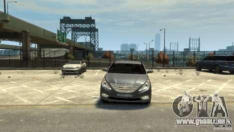Hyundai Sonata pour GTA 4 Vue arrière