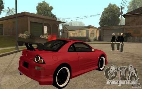 Mitsubishi Eclipse 2003 V1.0 pour GTA San Andreas vue de droite