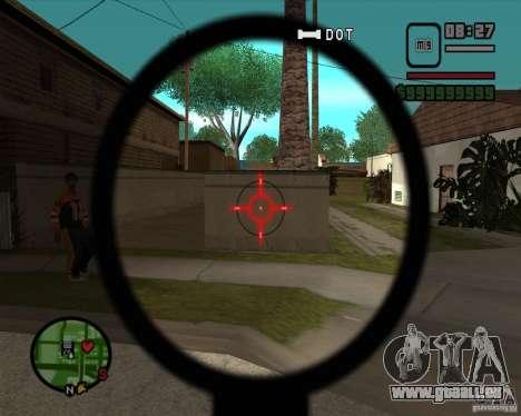 Schnickschnack für Waffen für GTA San Andreas sechsten Screenshot