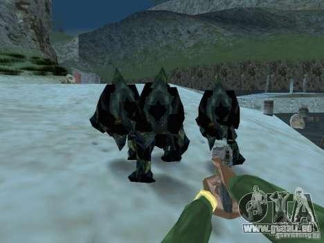 Unterwasser Monster für GTA San Andreas fünften Screenshot