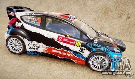 Ford Fiesta RS WRC für GTA 4 hinten links Ansicht