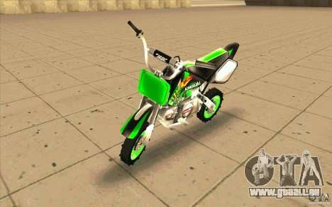 Kawasaki PitBike pour GTA San Andreas