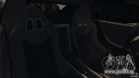 Ascari KZ1 v1.0 pour GTA 4 est une vue de l'intérieur