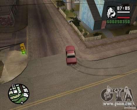 Caméra comme dans GTA Chinatown Wars pour GTA San Andreas huitième écran