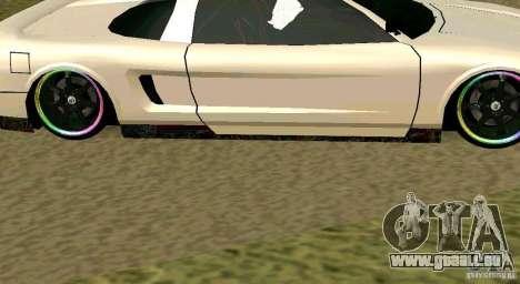 New Infernus pour GTA San Andreas vue de droite
