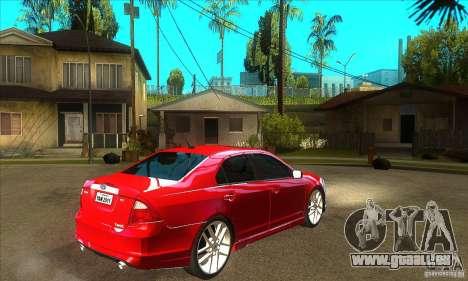 Ford Fusion Hybrid pour GTA San Andreas vue de droite