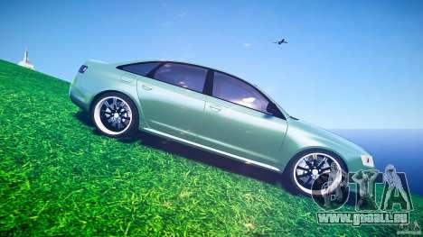 Audi RS6 2009 pour GTA 4 vue de dessus