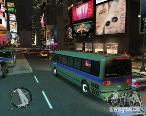 MTA NYC bus pour GTA 4 est une gauche