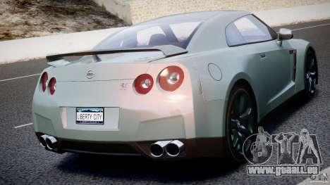 Nissan GT-R R35 2010 v1.3 pour GTA 4 Salon