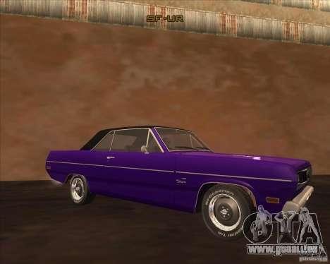 1971 Plymouth Scamp pour GTA San Andreas sur la vue arrière gauche