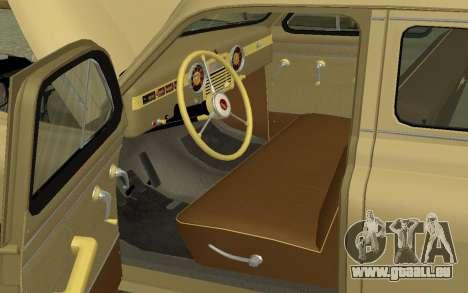 GAZ M20 Pobeda 1949 pour GTA San Andreas vue de droite