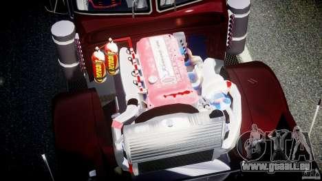 Peterbilt Sport Truck Custom pour GTA 4 vue de dessus