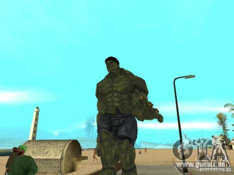 Hulk Skin für GTA San Andreas