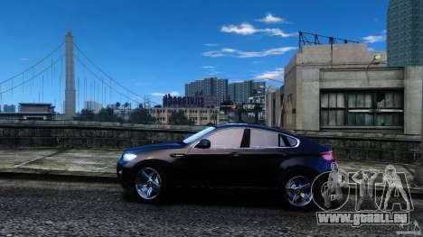 BMW X6 2013 pour GTA 4 est une gauche