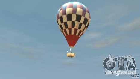 Balloon Tours option 2 pour GTA 4 est une gauche