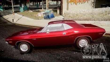 Dodge Challenger 1971 pour GTA 4 est une gauche