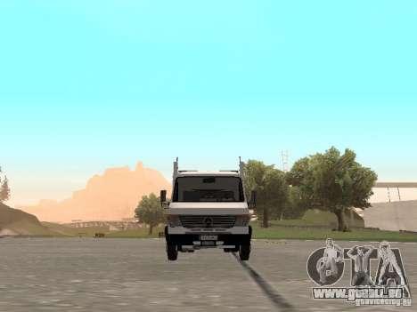 Mercedes-Benz Vario für GTA San Andreas Rückansicht