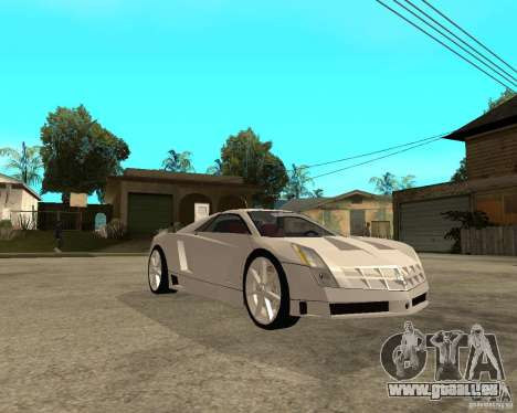 Cadillac Cien für GTA San Andreas rechten Ansicht