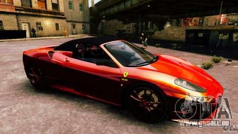 Ferrari 430 Spyder v1.5 für GTA 4 Seitenansicht