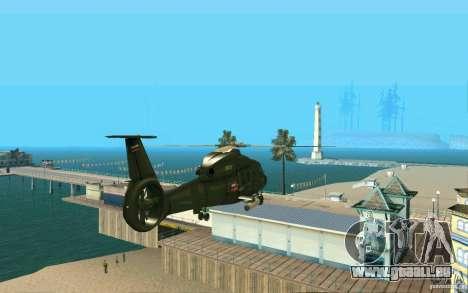 Ka-60 Kampfeinsatz für GTA San Andreas rechten Ansicht