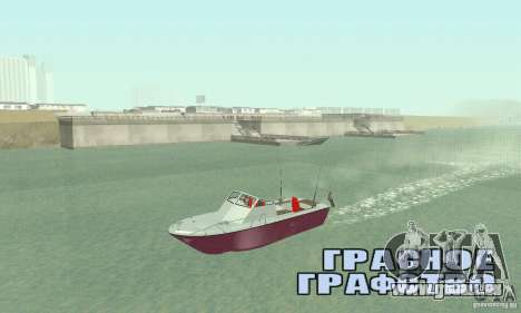 Sports Fishing Boat für GTA San Andreas