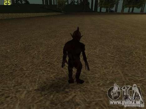 Chupacabra pour GTA San Andreas cinquième écran