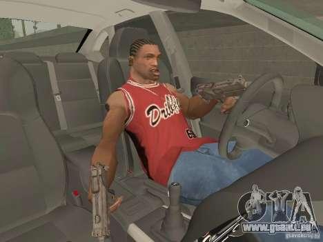 Frein à main pour GTA San Andreas troisième écran