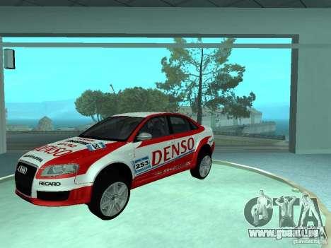 Audi RS4 pour GTA San Andreas moteur
