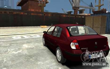 Renault Clio 1.4L für GTA 4 hinten links Ansicht