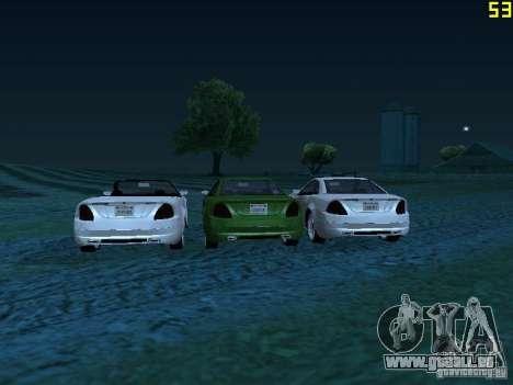 GTA IV Feltzer pour GTA San Andreas sur la vue arrière gauche