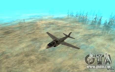 EA-6B Prowler pour GTA San Andreas laissé vue
