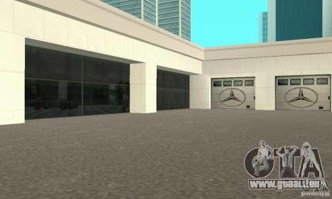Mercedes Showroom v.1.0 (BFMTV) pour GTA San Andreas deuxième écran