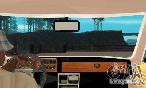 Ford Taunus 1978 für GTA San Andreas rechten Ansicht