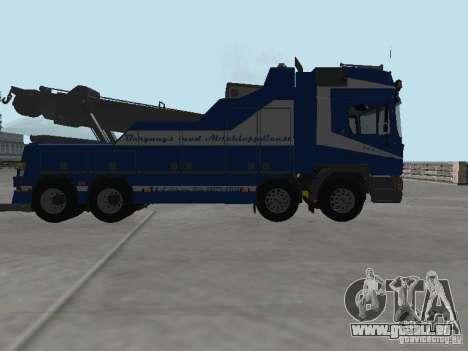 MAN F2000 (mit CLEO-Skript) für GTA San Andreas Unteransicht