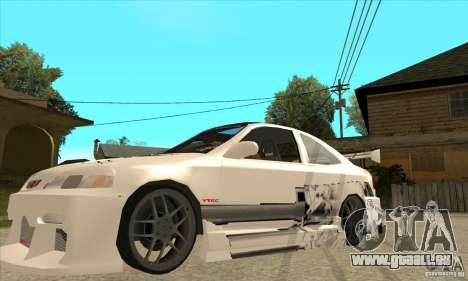 Honda Civic Tuning Tunable für GTA San Andreas