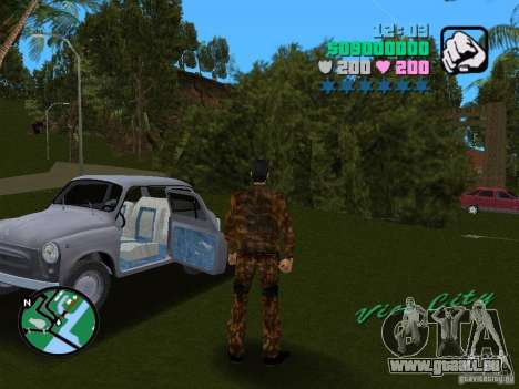 ZAZ 965 für GTA Vice City linke Ansicht