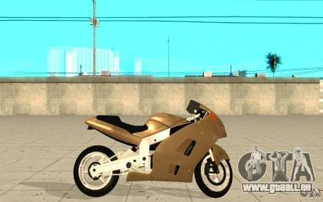 GTAIV TLAD Hakuchou Custom Version für GTA San Andreas linke Ansicht