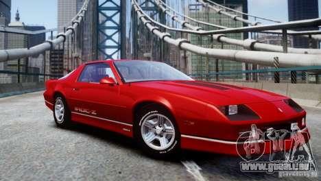 Chevrolet Camaro 1990 IROC-Z v1.5 für GTA 4