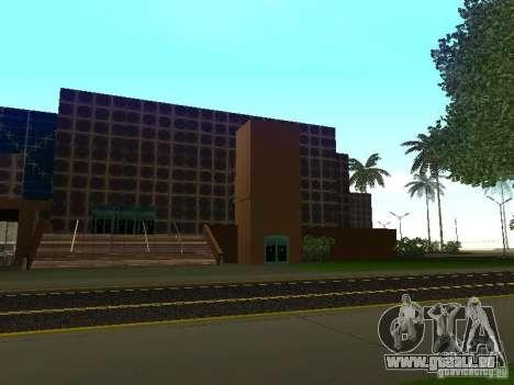 Immeuble neuf dans LS pour GTA San Andreas troisième écran