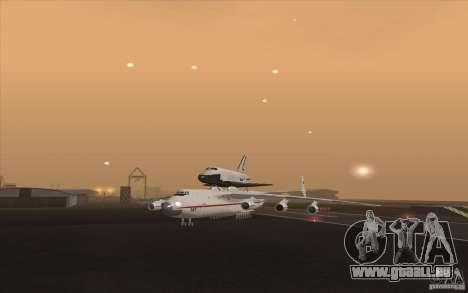 Antonov AN225 pour GTA San Andreas