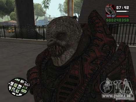 Lokast Theron Guard pour GTA San Andreas deuxième écran