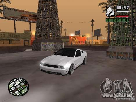 Ford Mustang GT B&W pour GTA San Andreas
