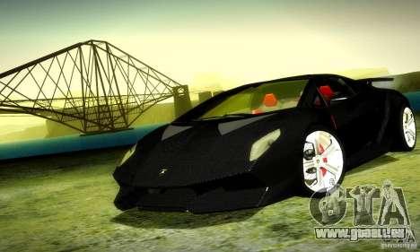 Lamborghini Sesto Elemento pour GTA San Andreas laissé vue