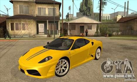 Ferrari F430 Scuderia 2007 pour GTA San Andreas vue de droite