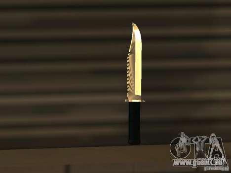 Knife Chrome pour GTA San Andreas