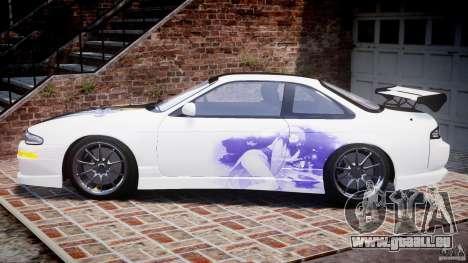 Nissan Silvia S14 [EPM] pour GTA 4 est une gauche
