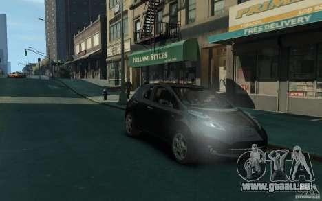 Nissan Leaf 2011 pour GTA 4