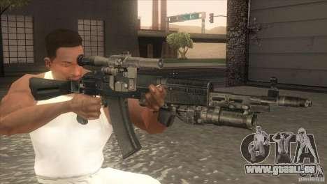 AK-47-v2 für GTA San Andreas dritten Screenshot