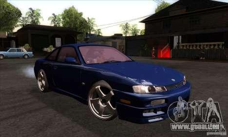 Nissan 200SX pour GTA San Andreas vue arrière